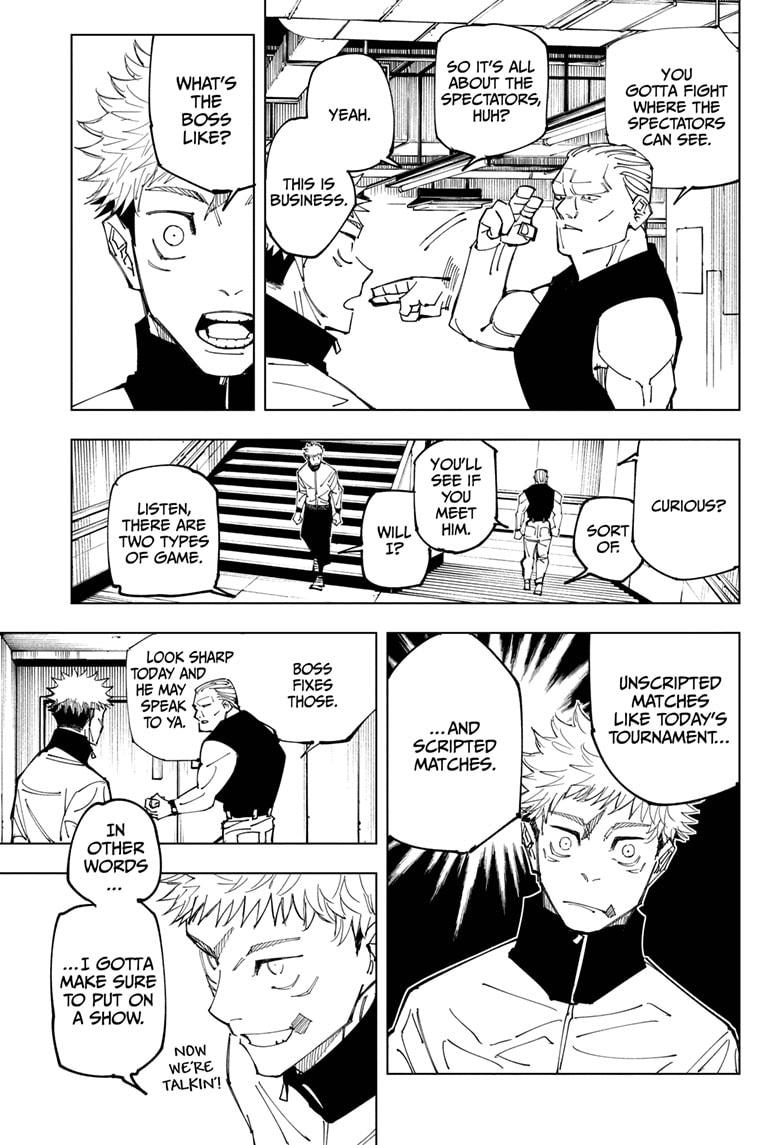 Jujutsu Kaisen, Chapter 153 image 009