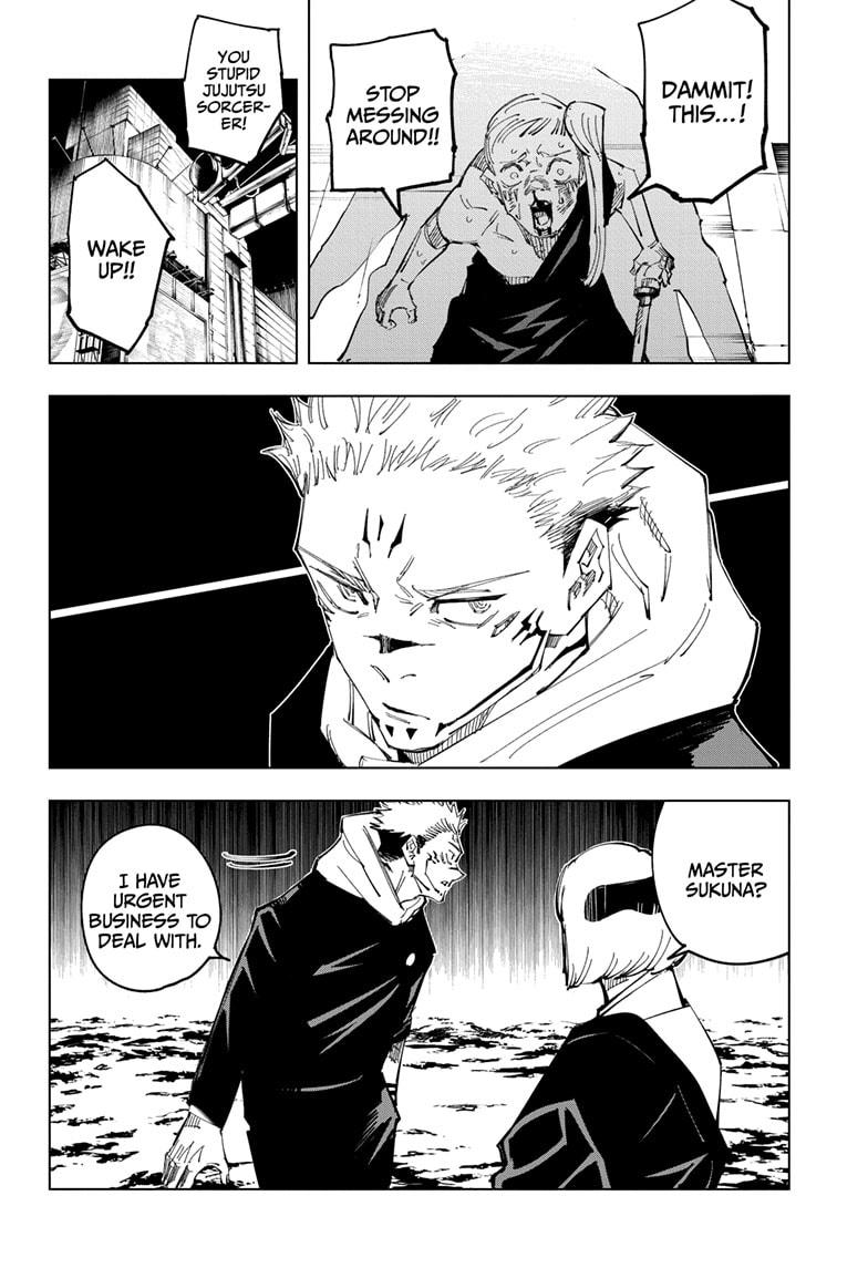Jujutsu Kaisen, Chapter 117 image 015