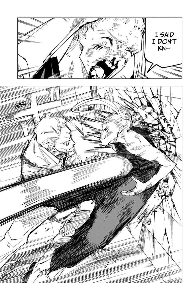 Jujutsu Kaisen, Chapter 100 image 011