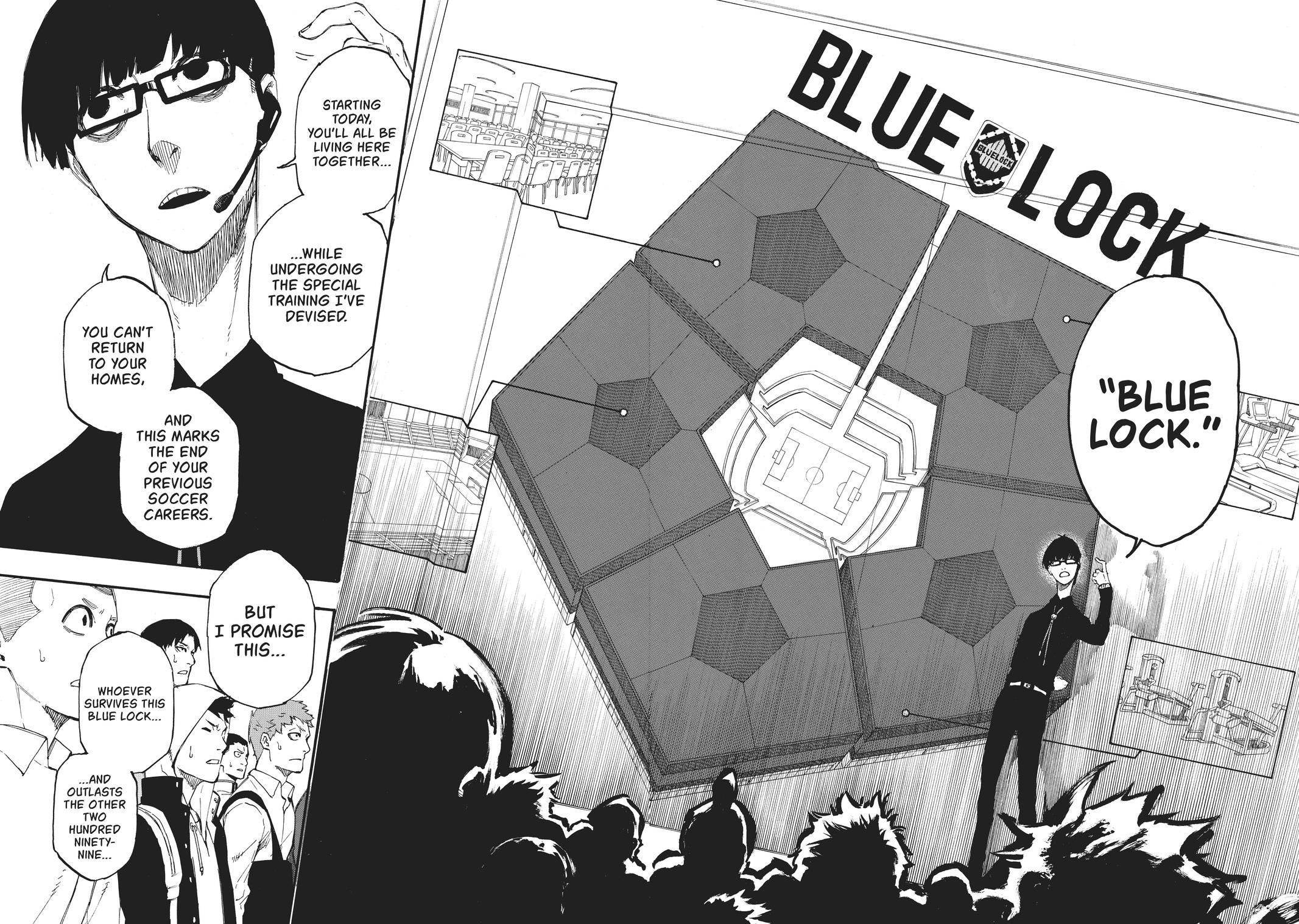 Blue Lock, Chapter 1 image 046