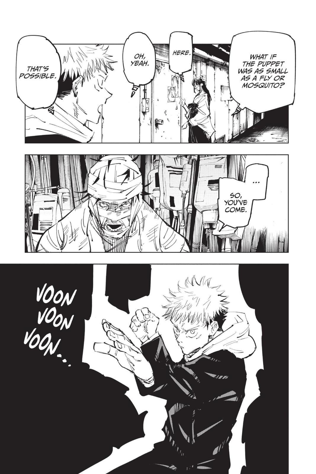 Jujutsu Kaisen, Chapter 79 image 013