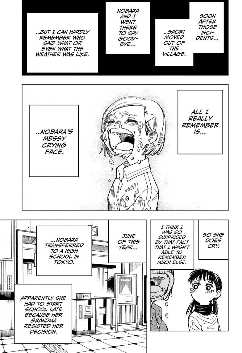 Jujutsu Kaisen, Chapter 125 image 009