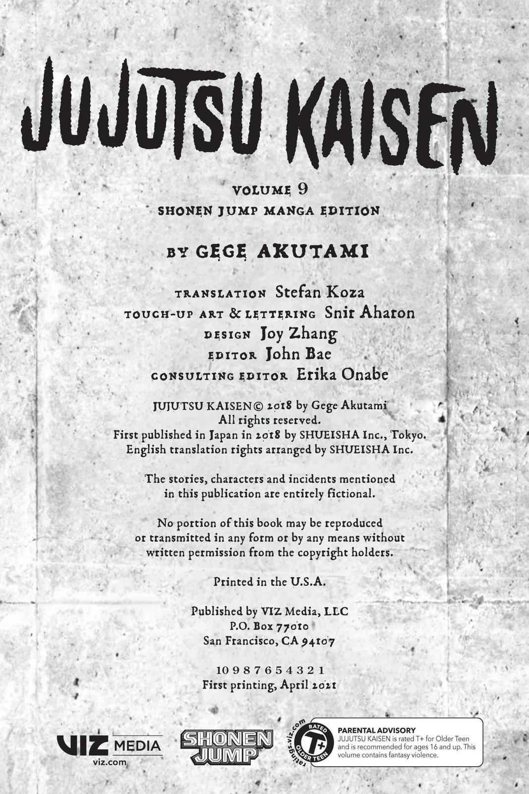 Jujutsu Kaisen, Chapter 71 image 003