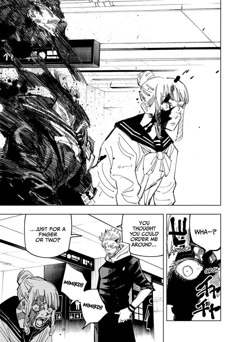 Jujutsu Kaisen, Chapter 112 image 013