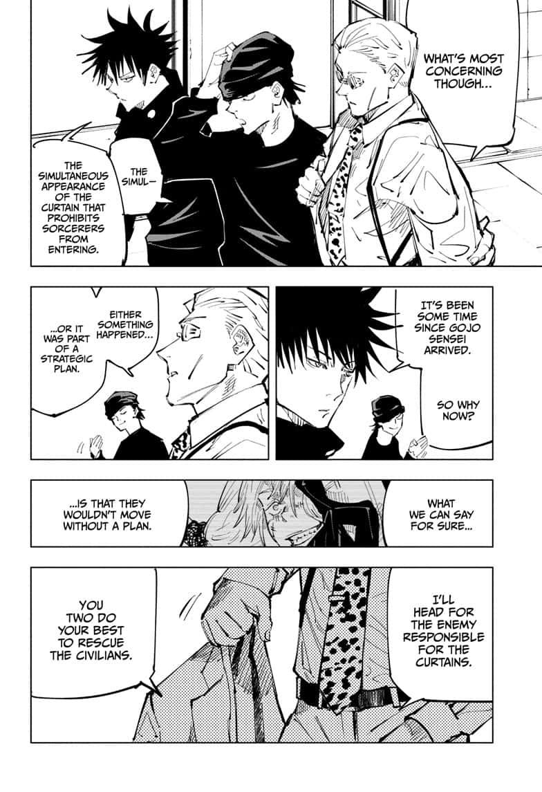 Jujutsu Kaisen, Chapter 92 image 002