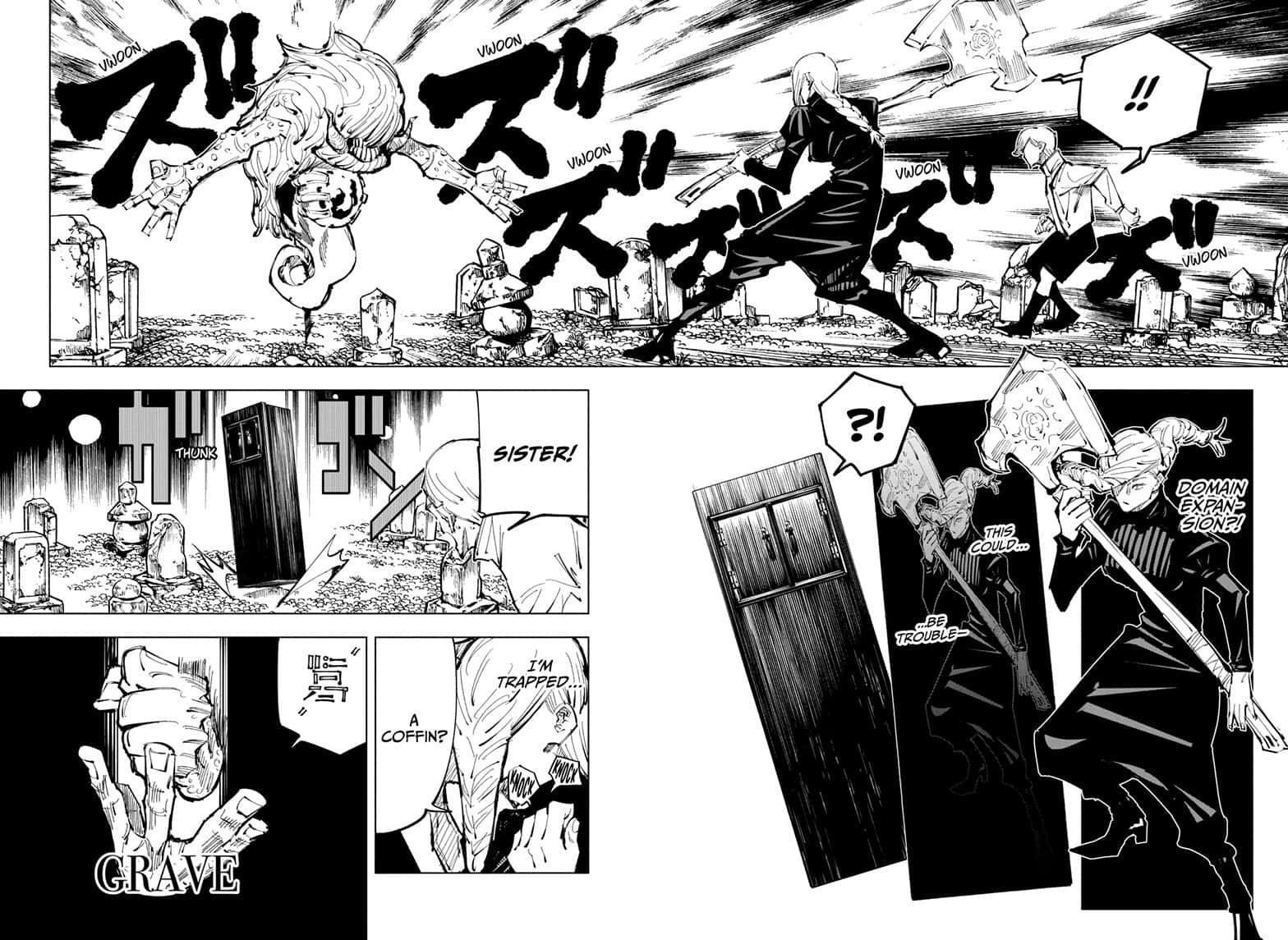 Jujutsu Kaisen, Chapter 101 image 006