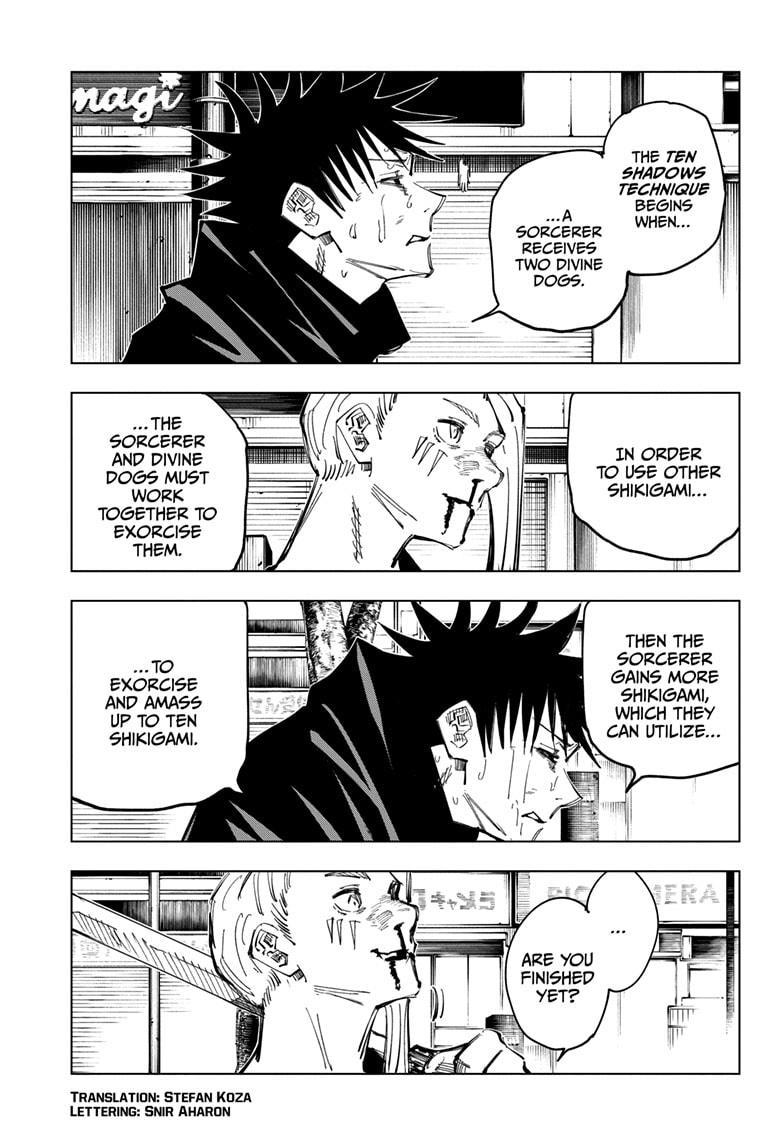 Jujutsu Kaisen, Chapter 117 image 003