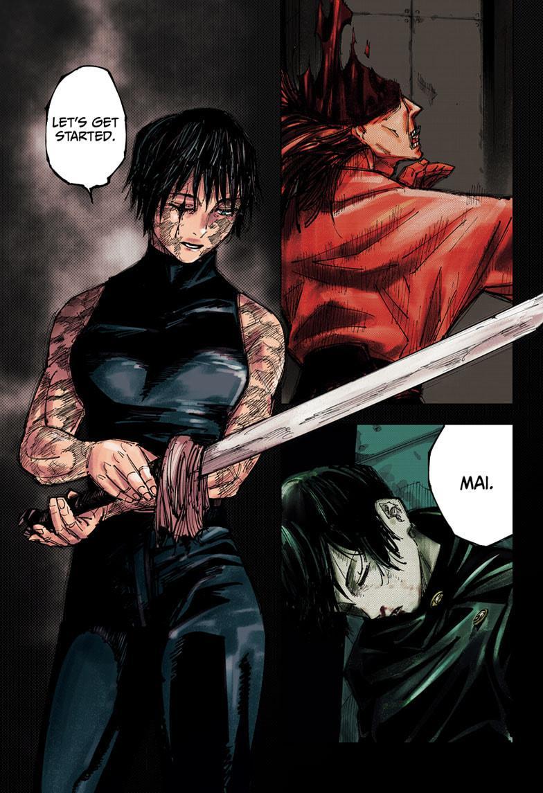Jujutsu Kaisen, Chapter 150 image 001