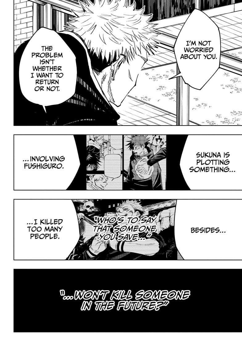 Jujutsu Kaisen, Chapter 138 image 016