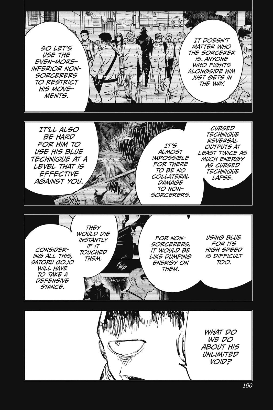 Jujutsu Kaisen, Chapter 84 image 012