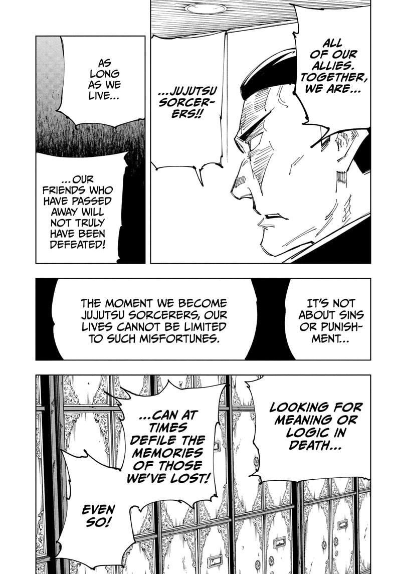 Jujutsu Kaisen, Chapter 127 image 010