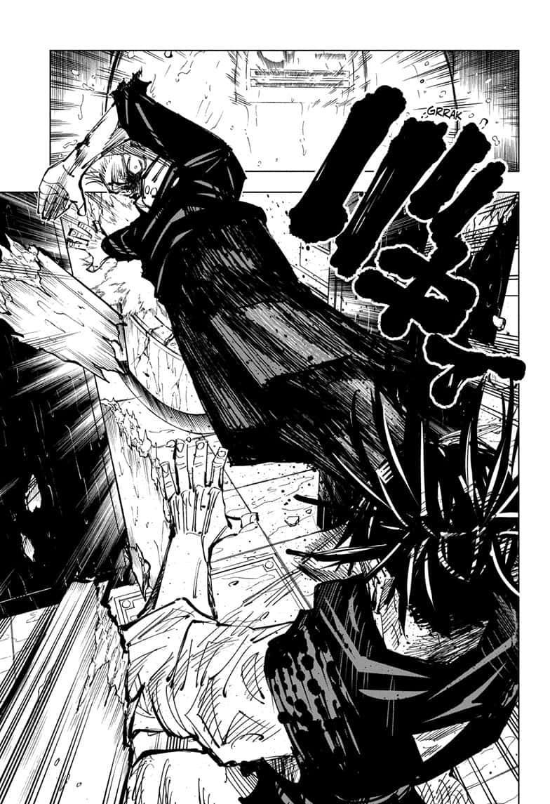 Jujutsu Kaisen, Chapter 105 image 011