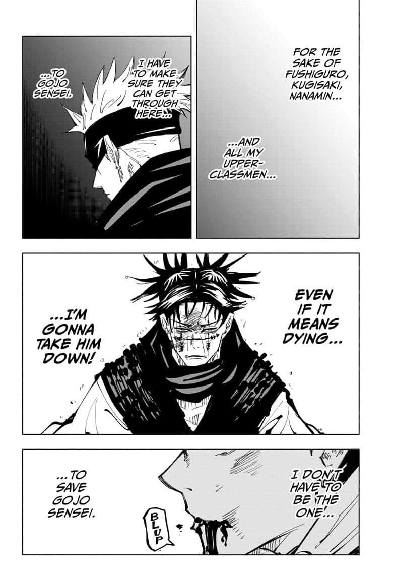 Jujutsu Kaisen, Chapter 105 image 004