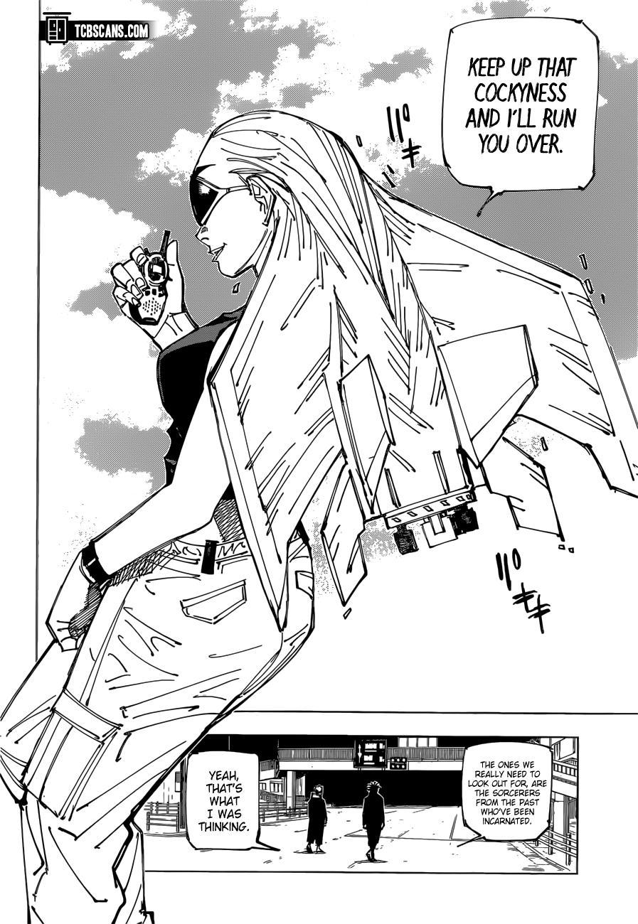 Jujutsu Kaisen, Chapter 161 image 03