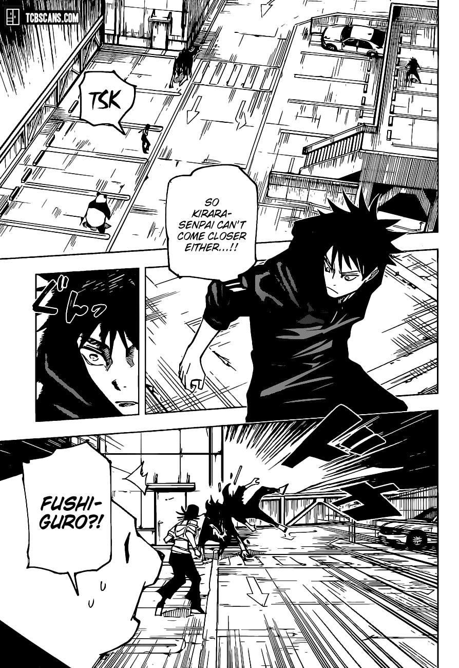 Jujutsu Kaisen, Chapter 154 image 018