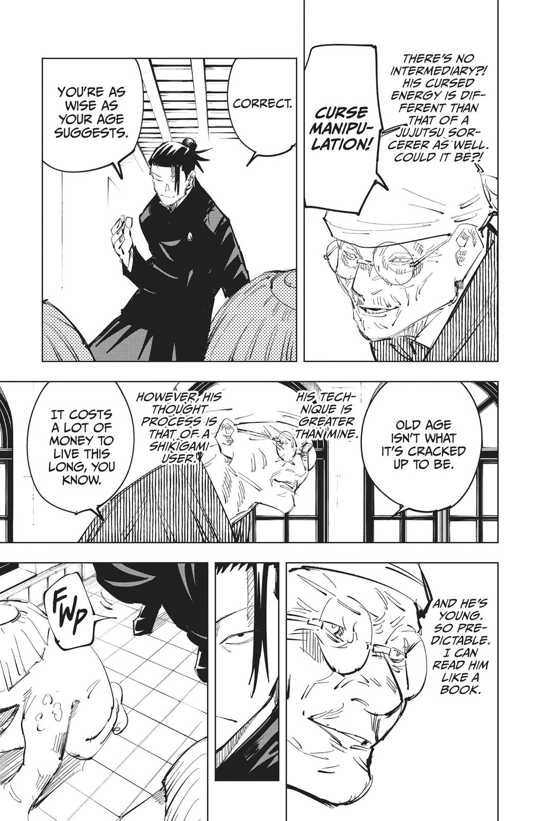 Jujutsu Kaisen, Chapter 68 image 007