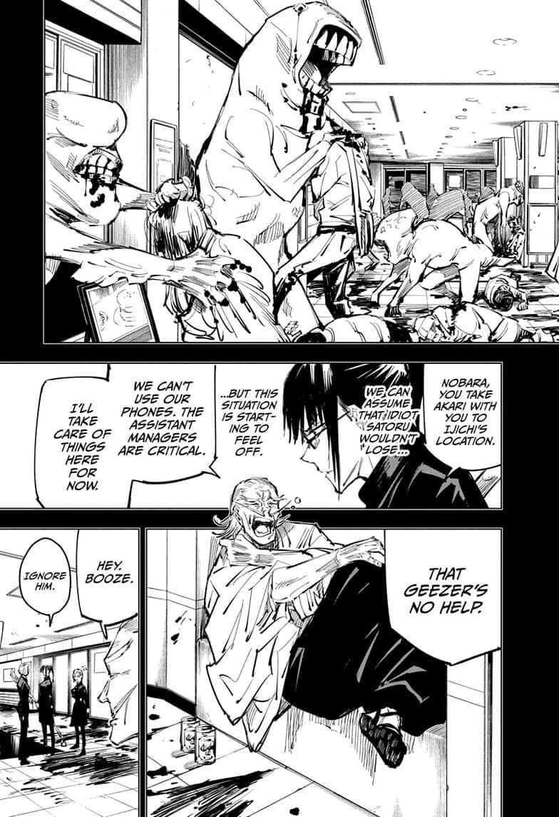 Jujutsu Kaisen, Chapter 99 image 003