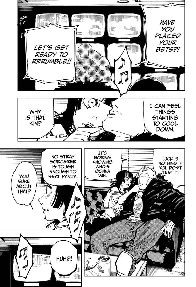 Jujutsu Kaisen, Chapter 153 image 013