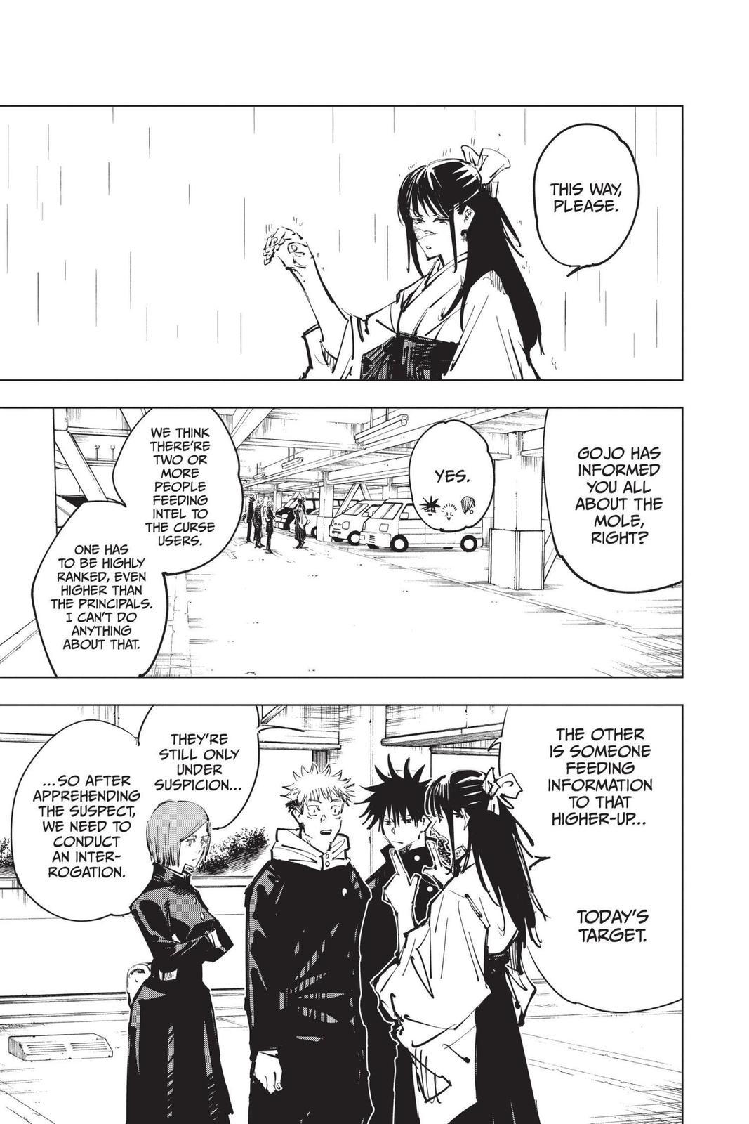 Jujutsu Kaisen, Chapter 79 image 009