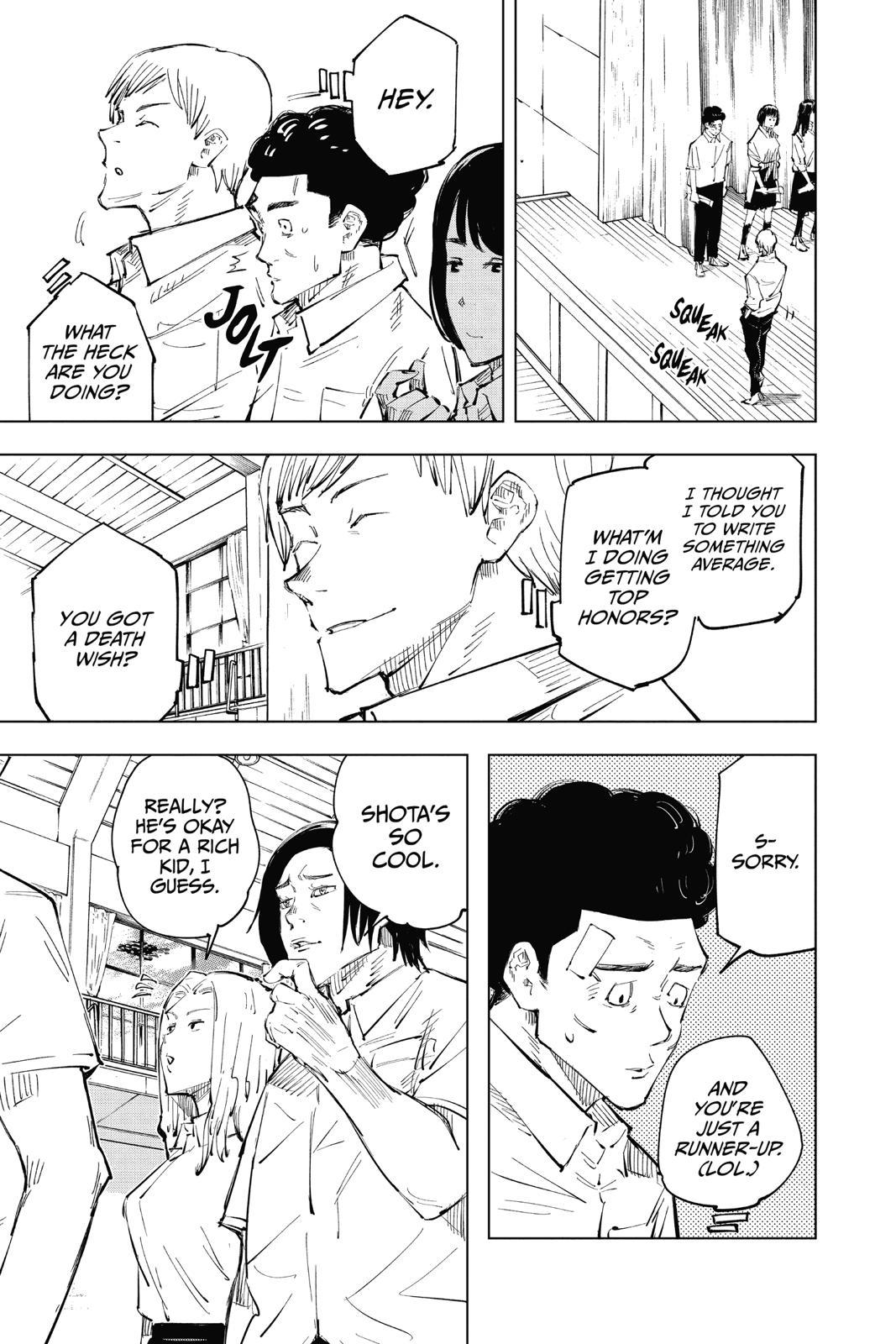 Jujutsu Kaisen, Chapter 25 image 007
