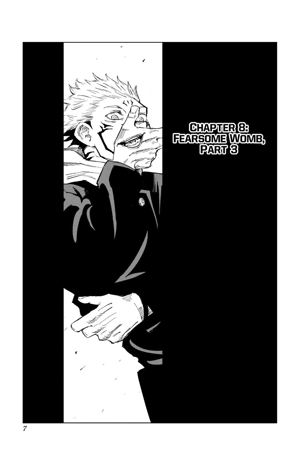 Jujutsu Kaisen, Chapter 8 image 007