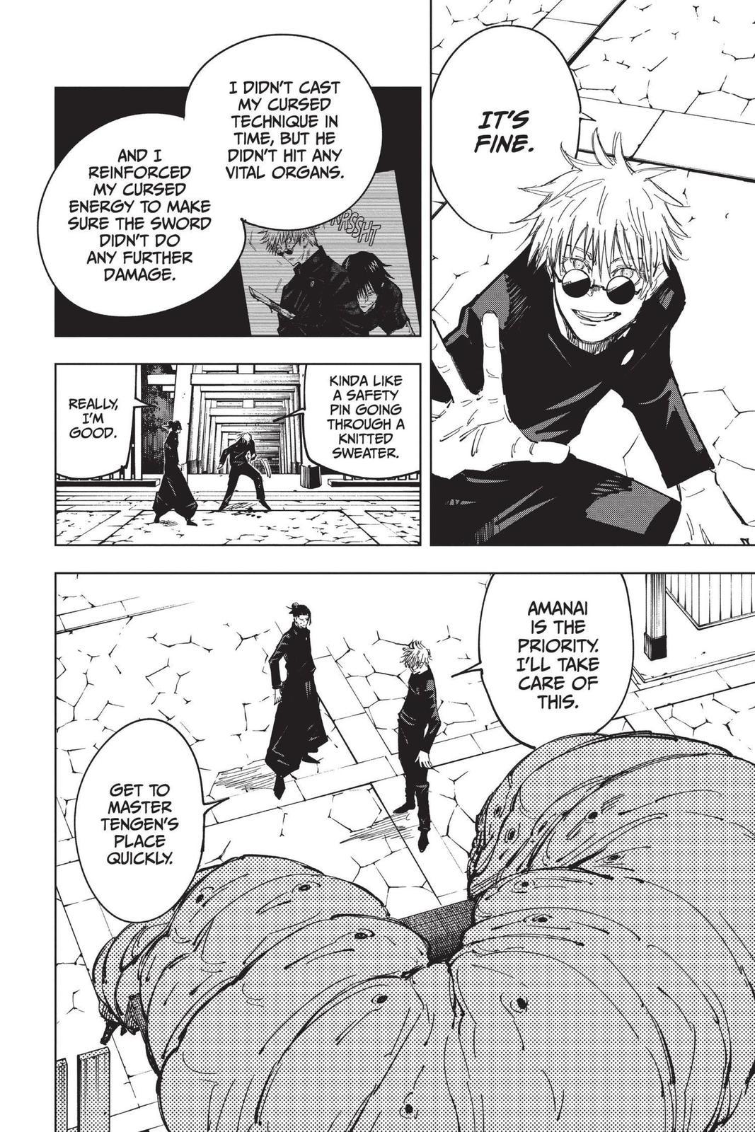Jujutsu Kaisen, Chapter 71 image 010