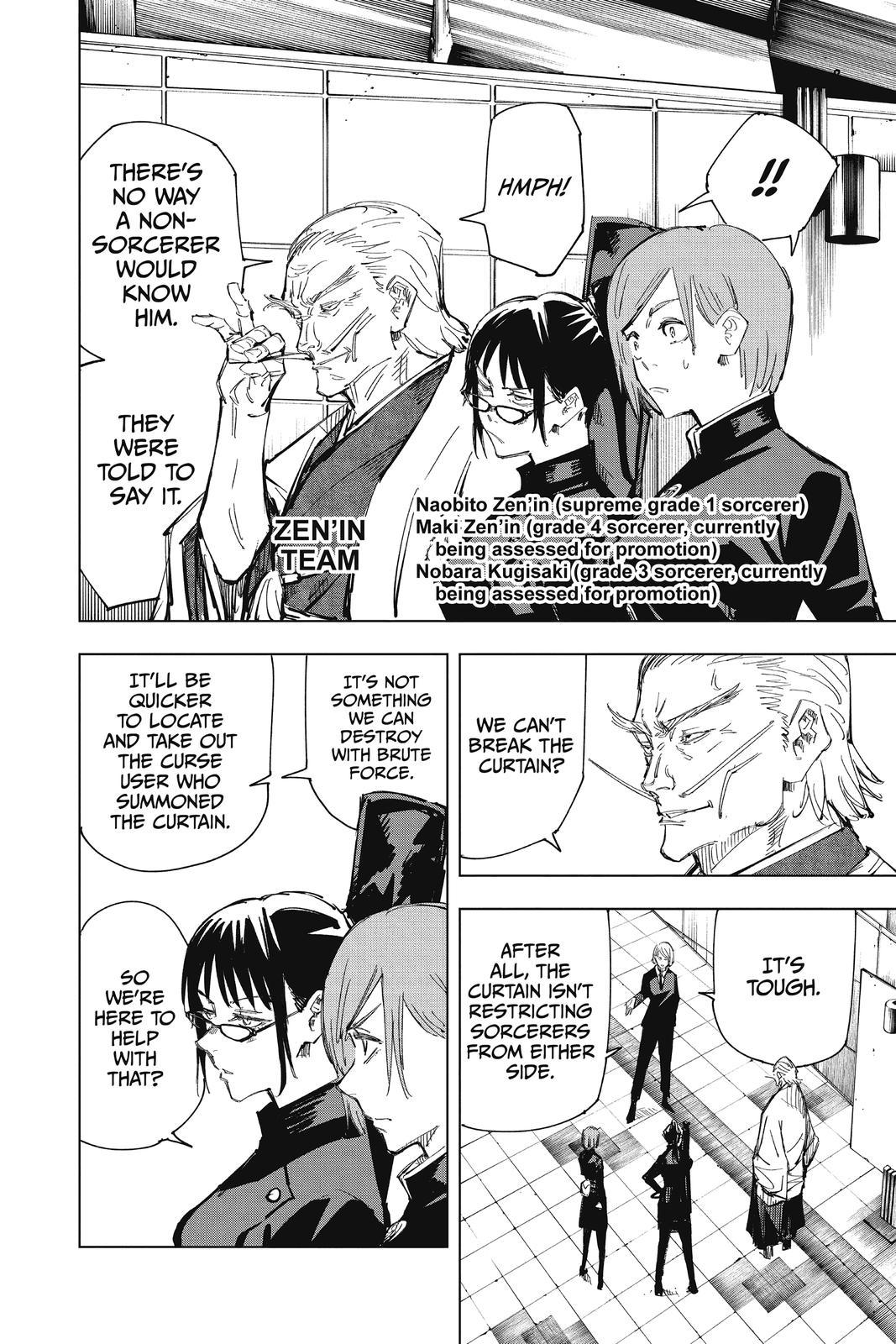 Jujutsu Kaisen, Chapter 83 image 004