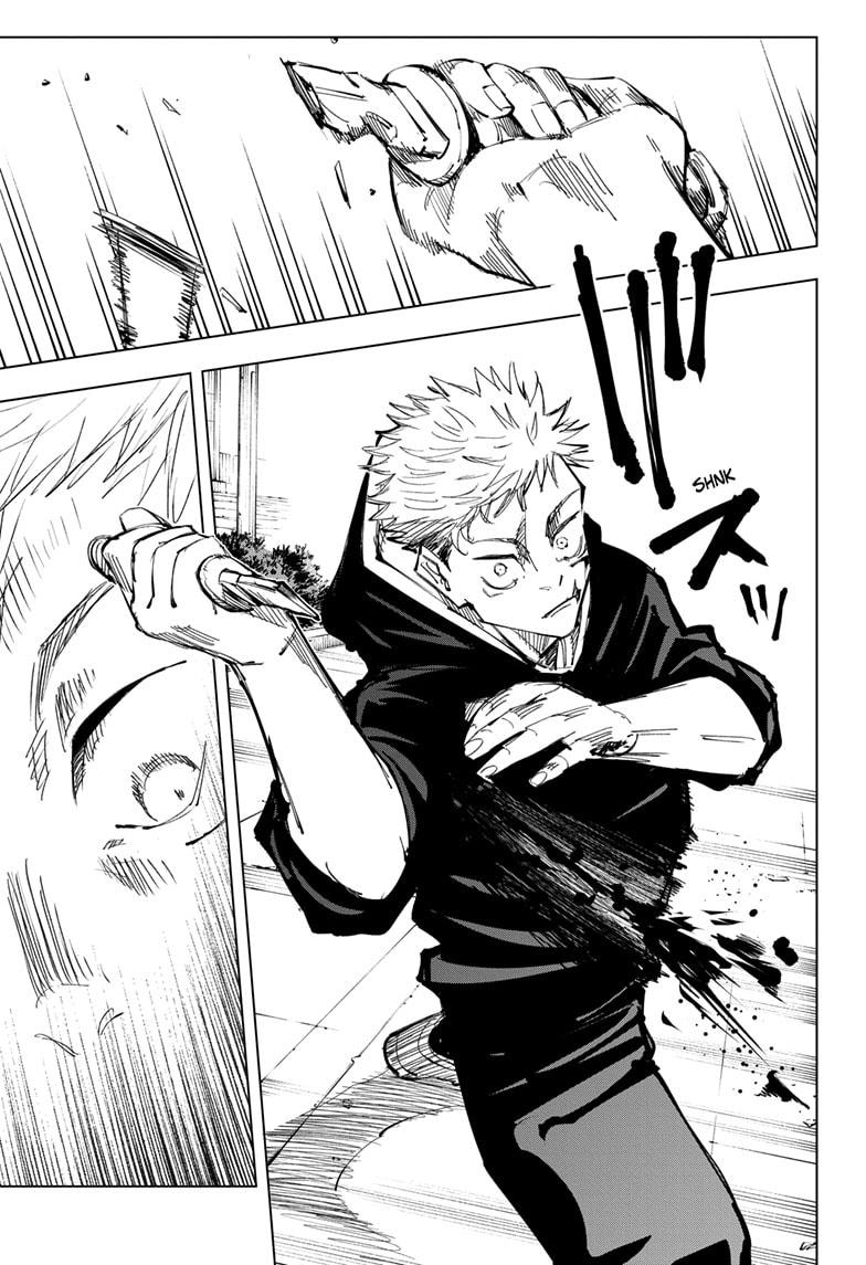 Jujutsu Kaisen, Chapter 141 image 009