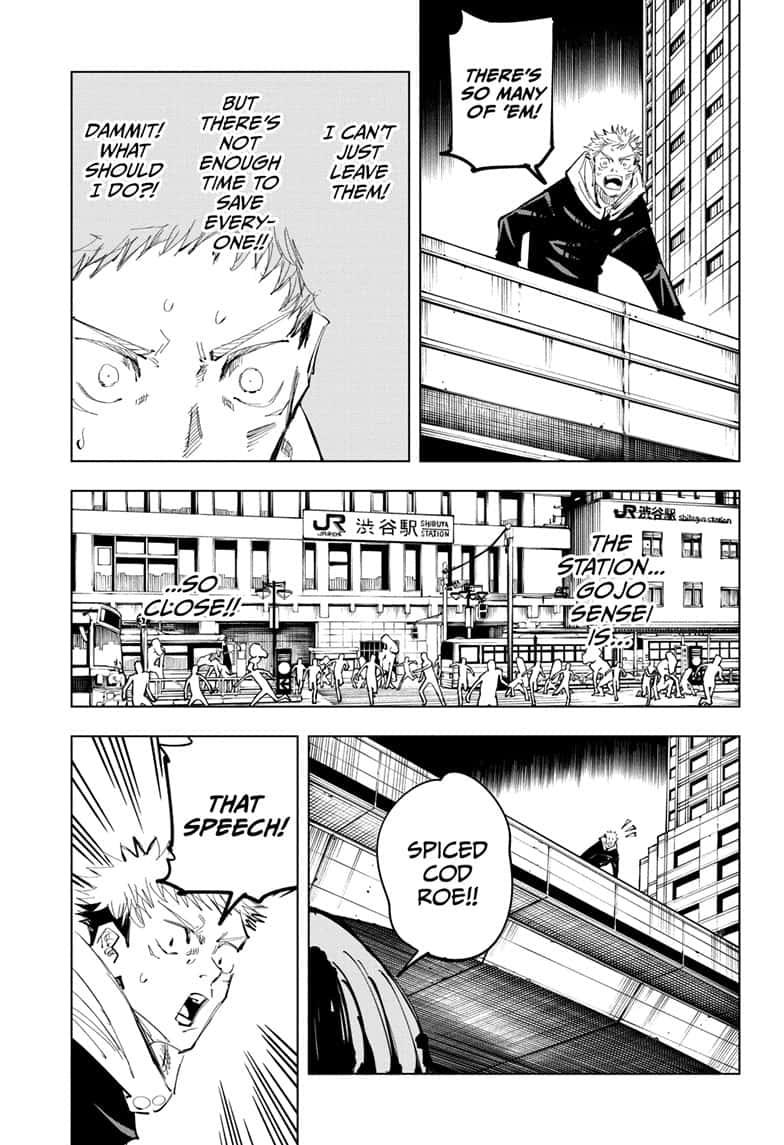 Jujutsu Kaisen, Chapter 100 image 019