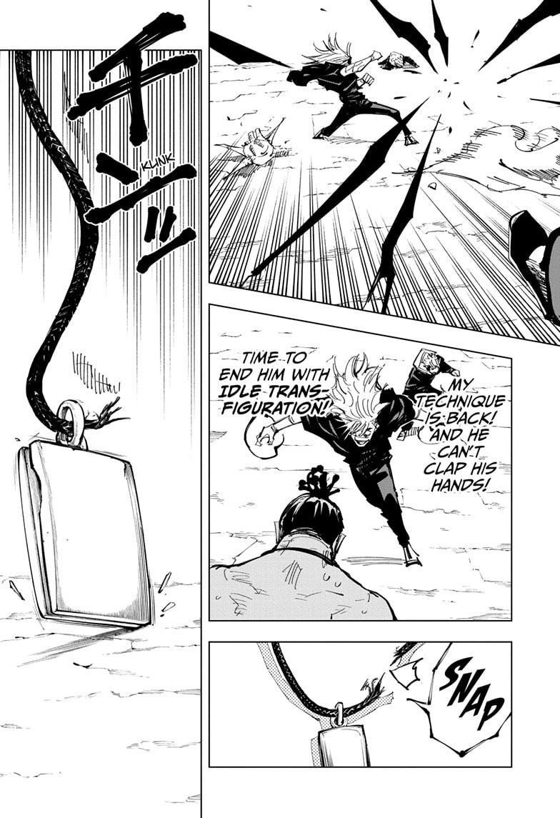 Jujutsu Kaisen, Chapter 130 image 011