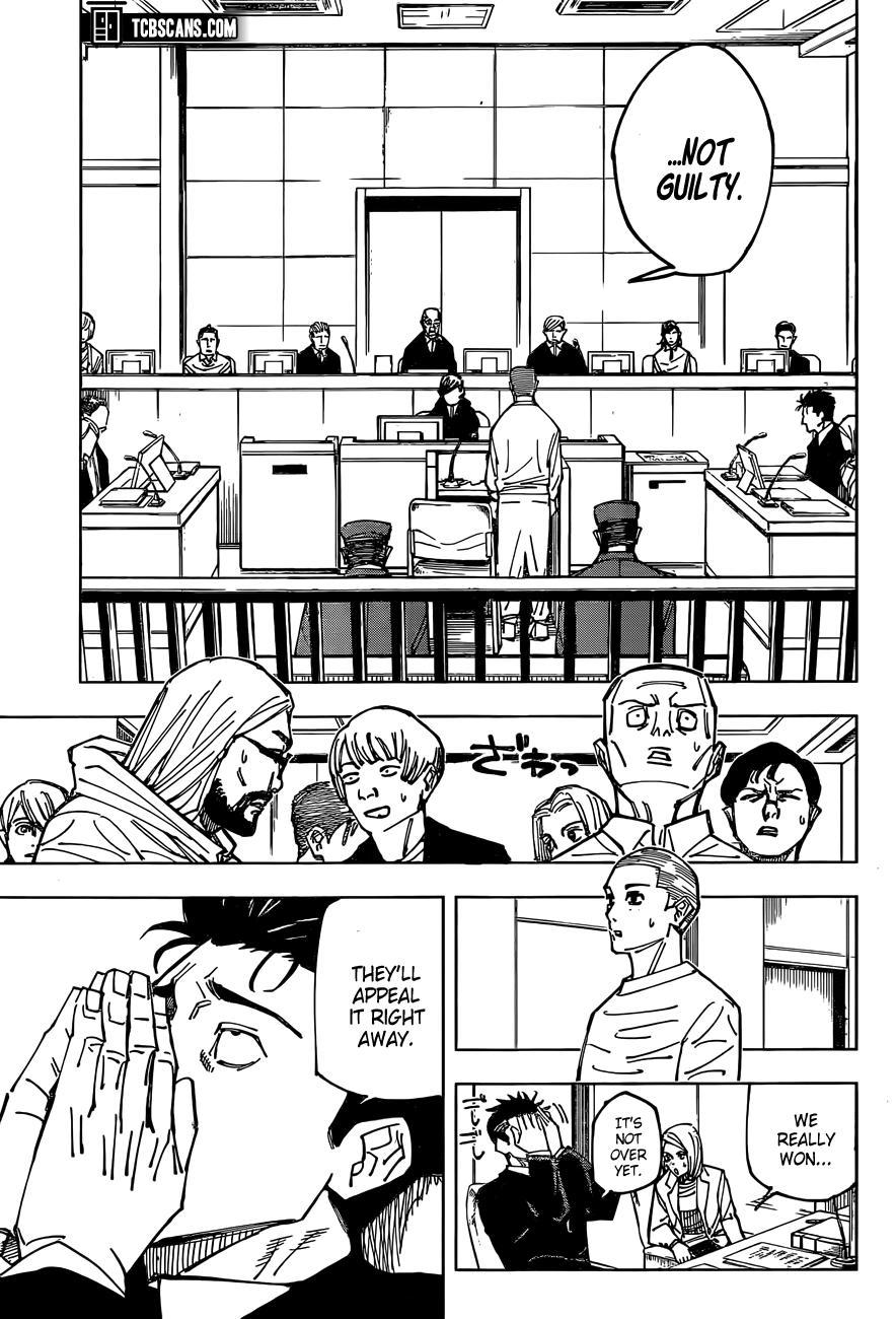 Jujutsu Kaisen, Chapter 159 image 11
