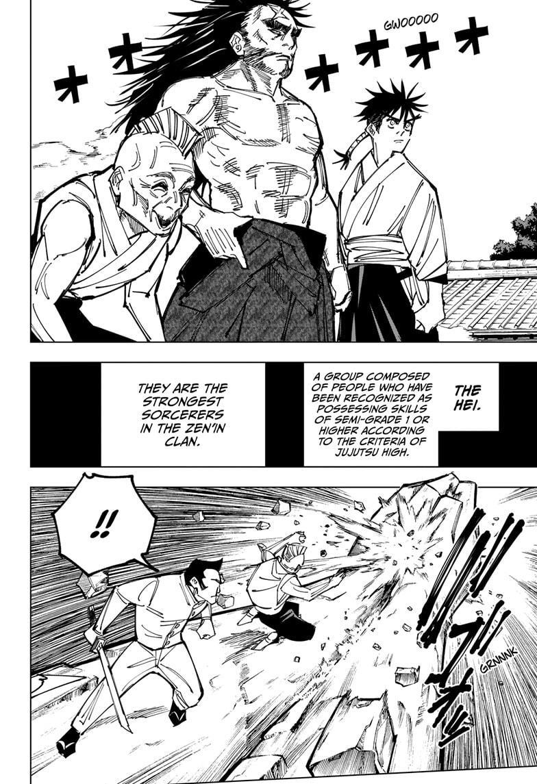 Jujutsu Kaisen, Chapter 150 image 014