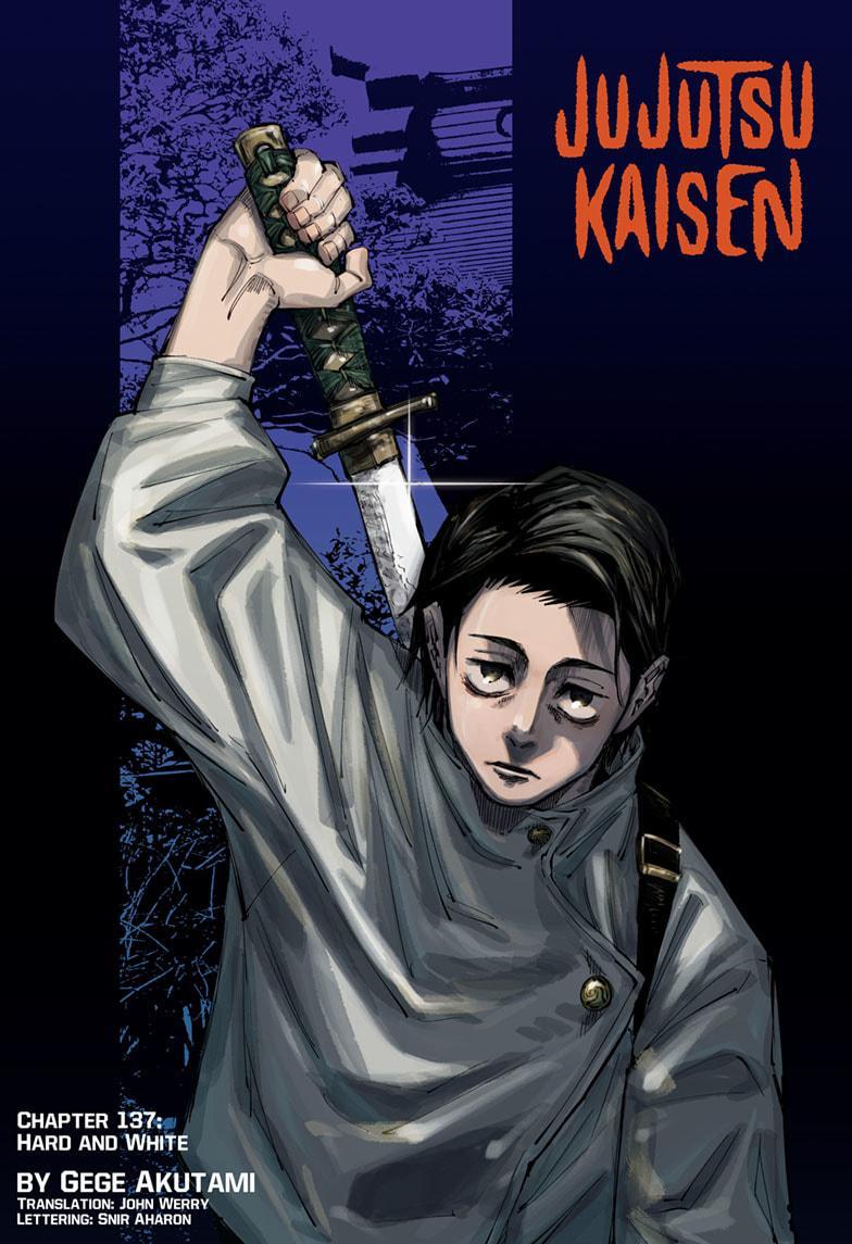 Jujutsu Kaisen, Chapter 137 image 001