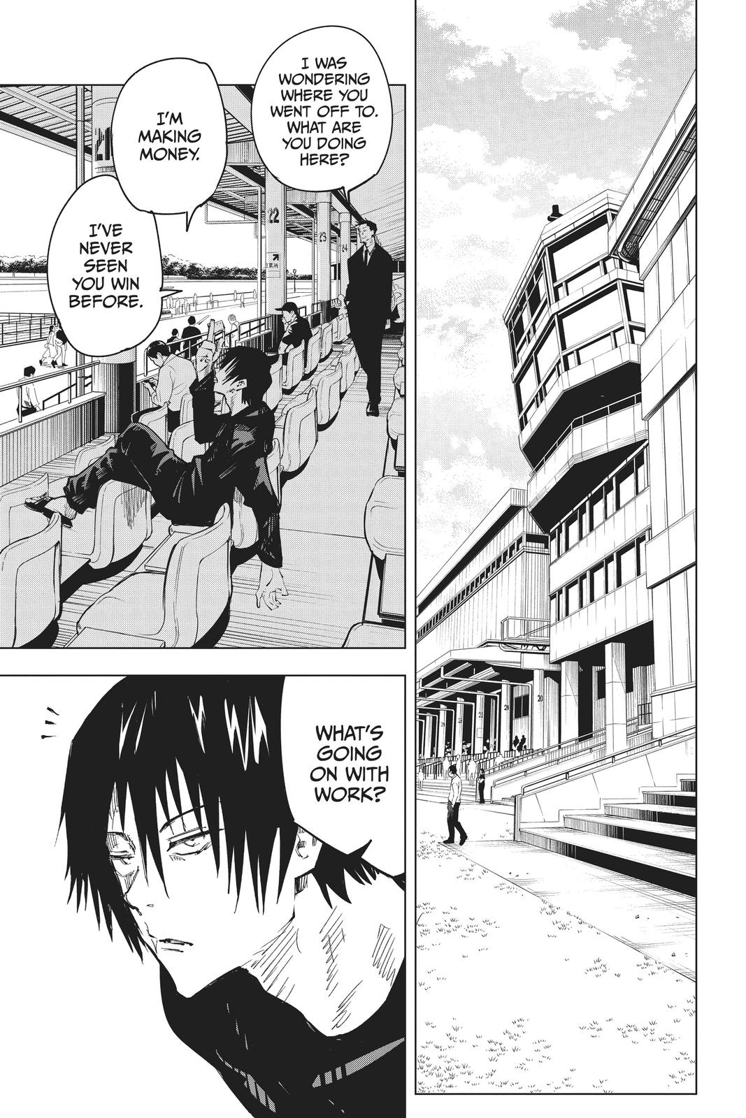 Jujutsu Kaisen, Chapter 67 image 005