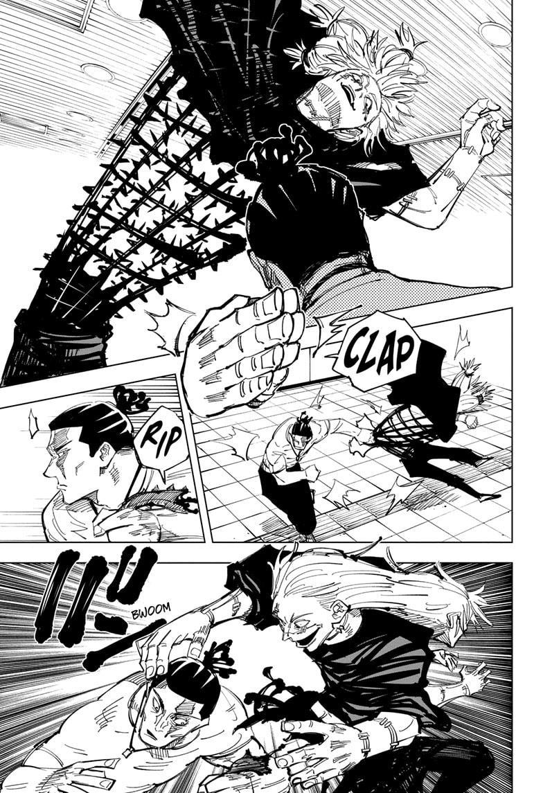Jujutsu Kaisen, Chapter 127 image 014