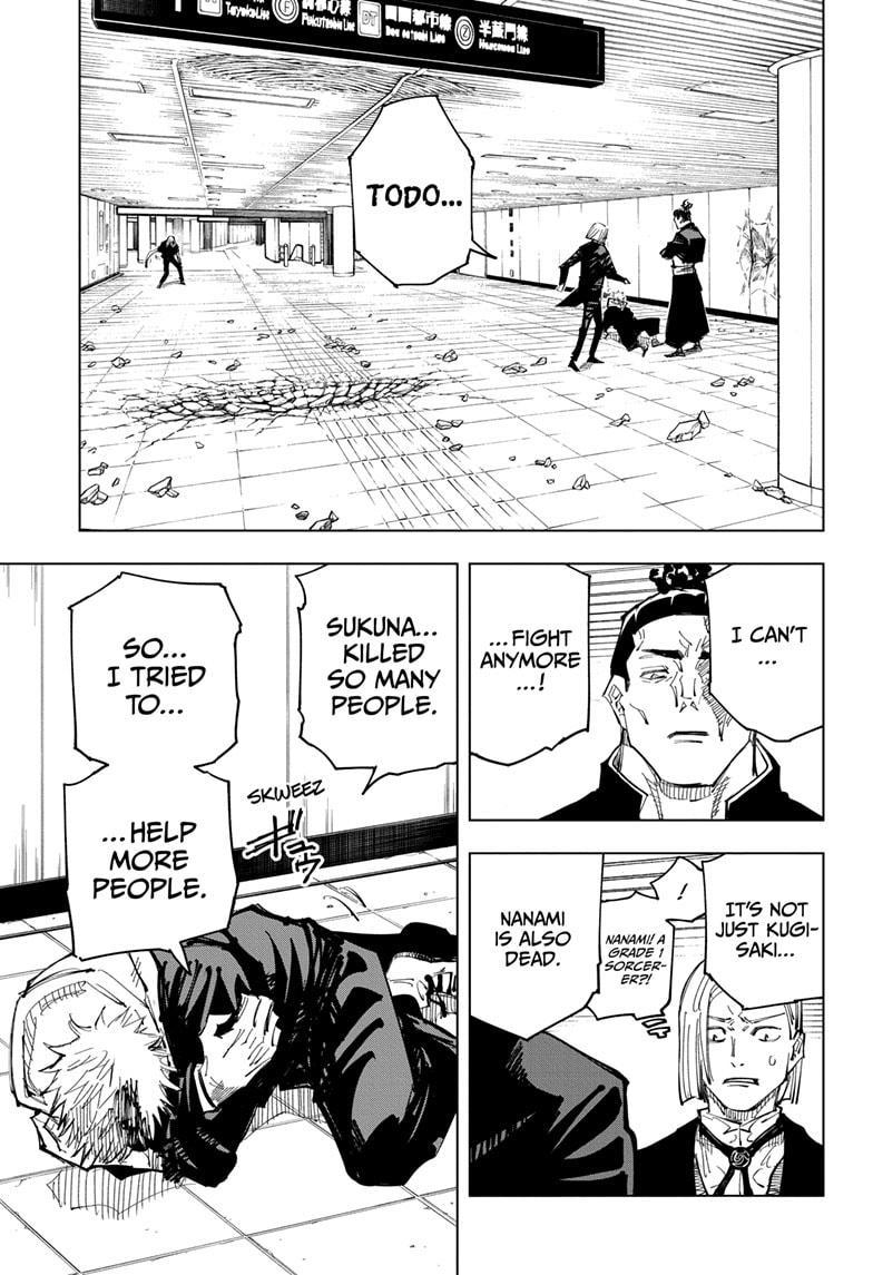 Jujutsu Kaisen, Chapter 127 image 004
