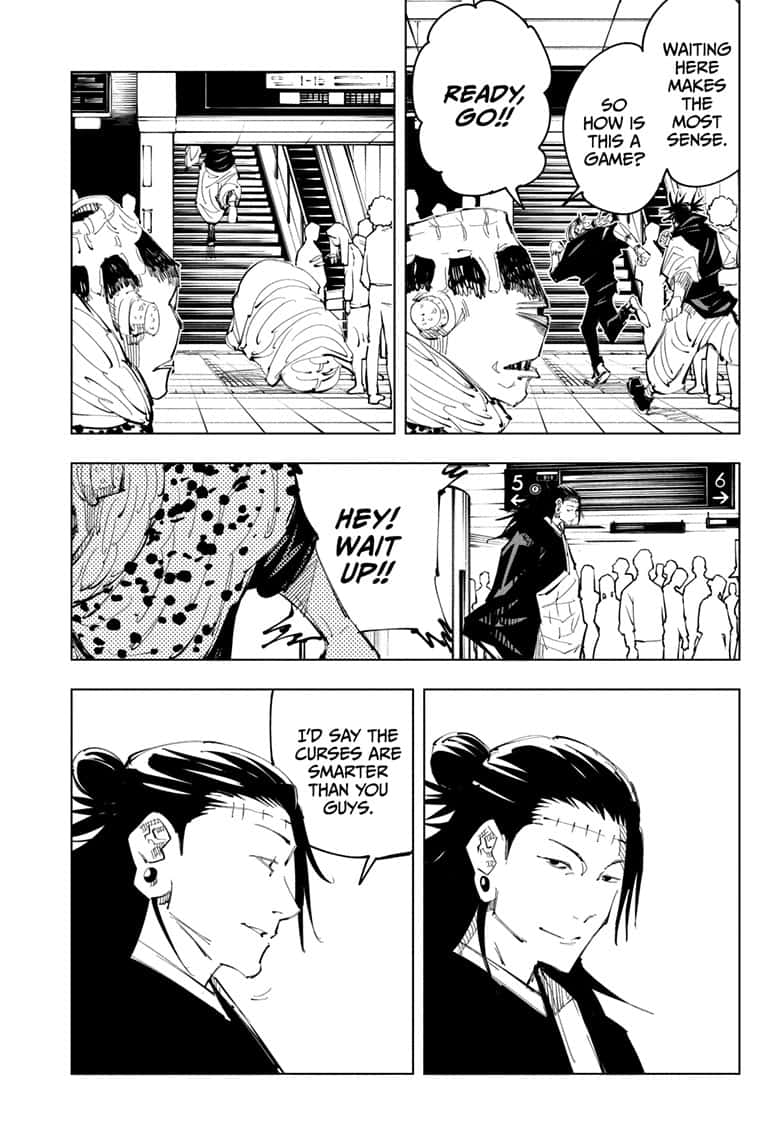 Jujutsu Kaisen, Chapter 93 image 005