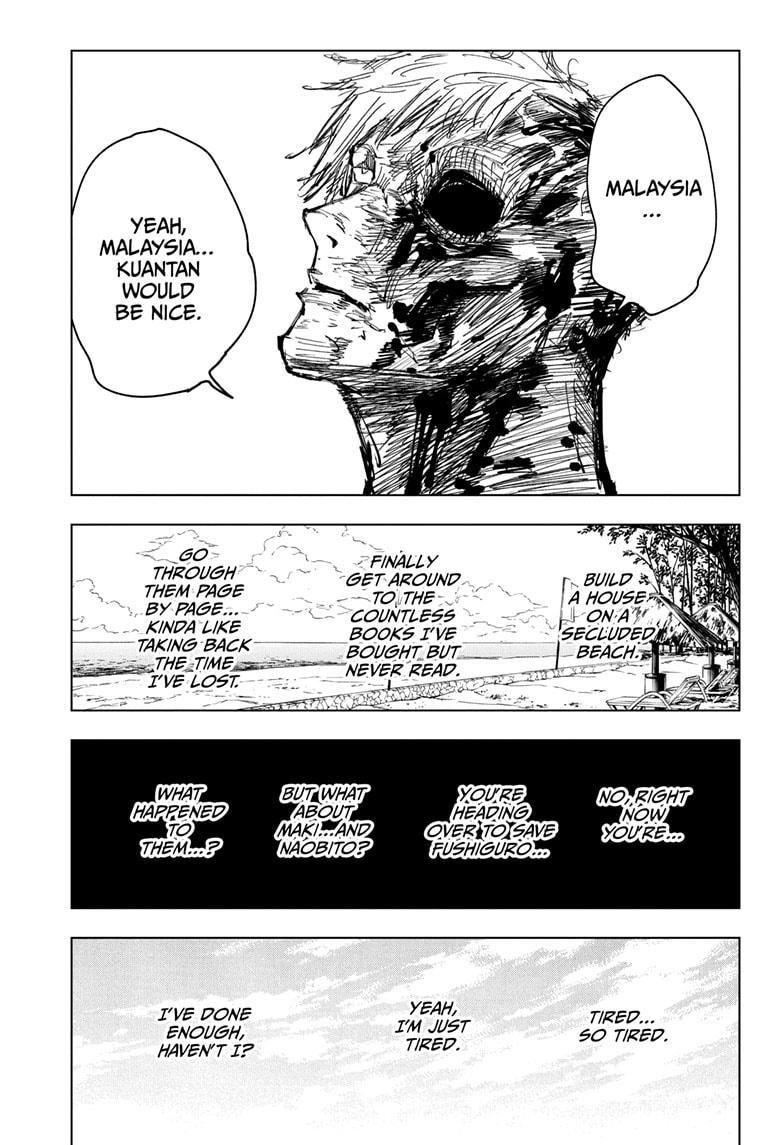 Jujutsu Kaisen, Chapter 120 image 011