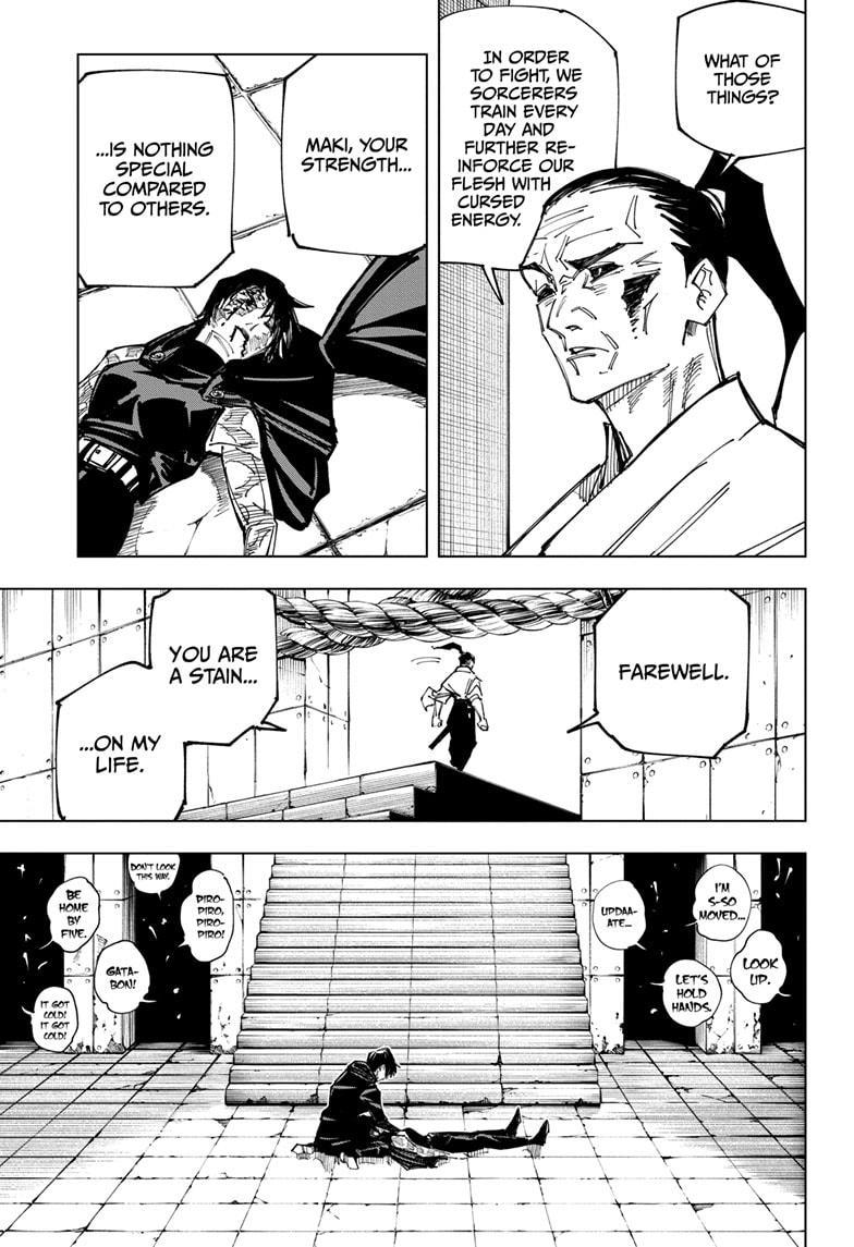 Jujutsu Kaisen, Chapter 149 image 005