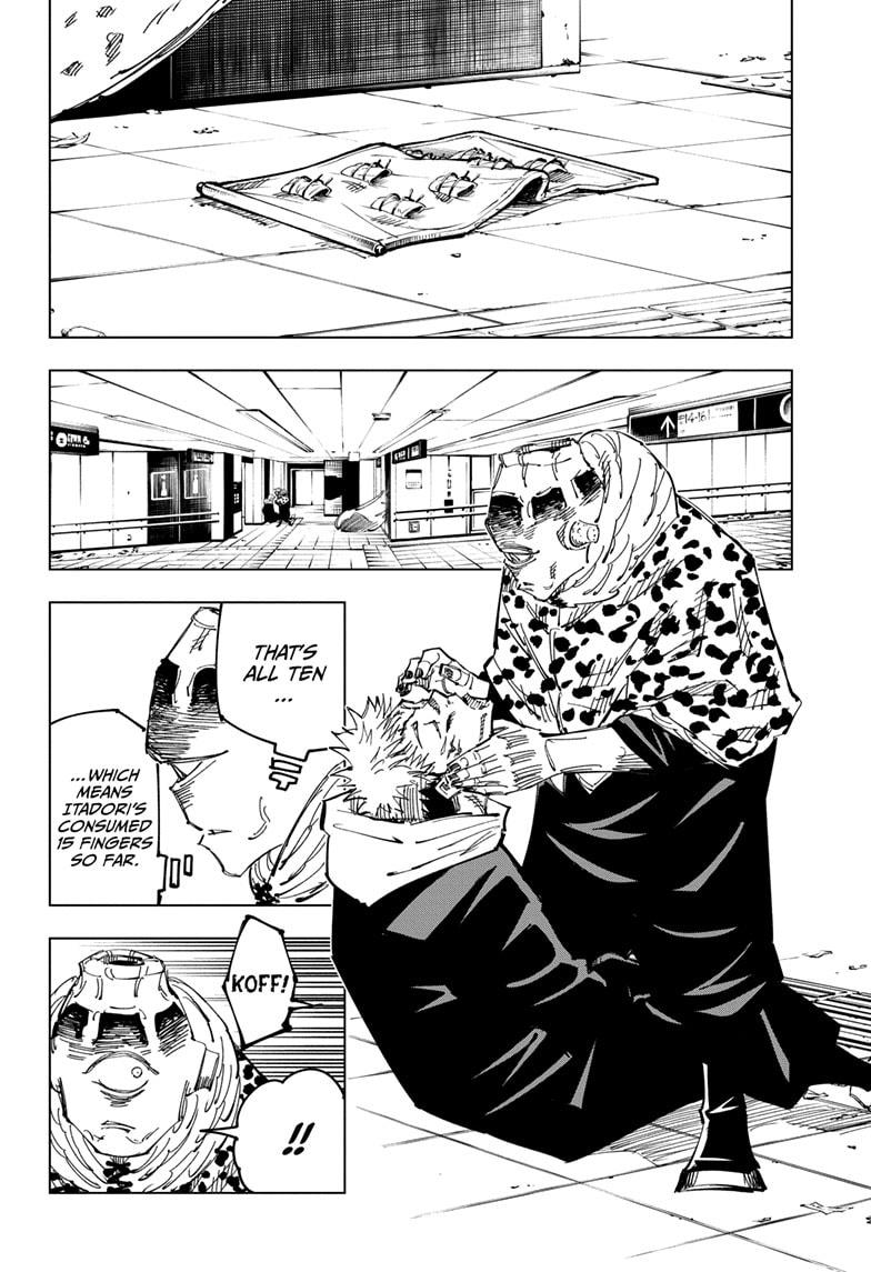Jujutsu Kaisen, Chapter 112 image 002