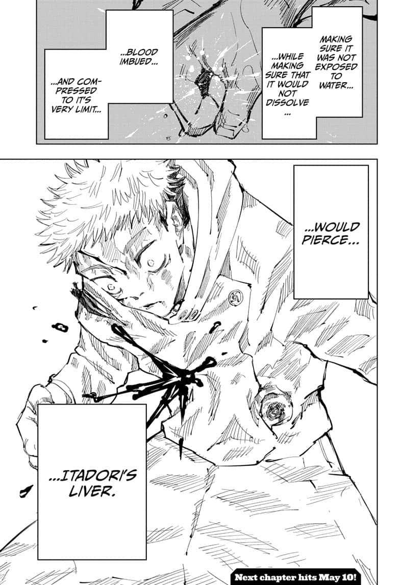 Jujutsu Kaisen, Chapter 104 image 018