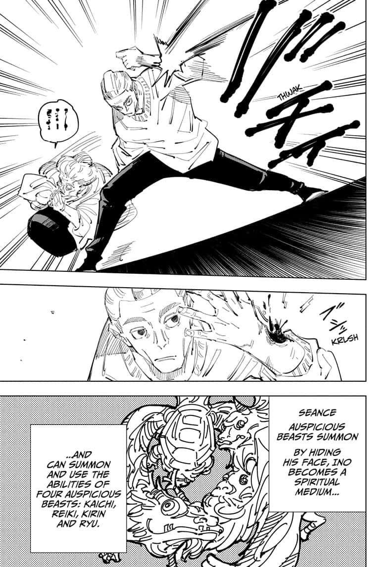 Jujutsu Kaisen, Chapter 95 image 005