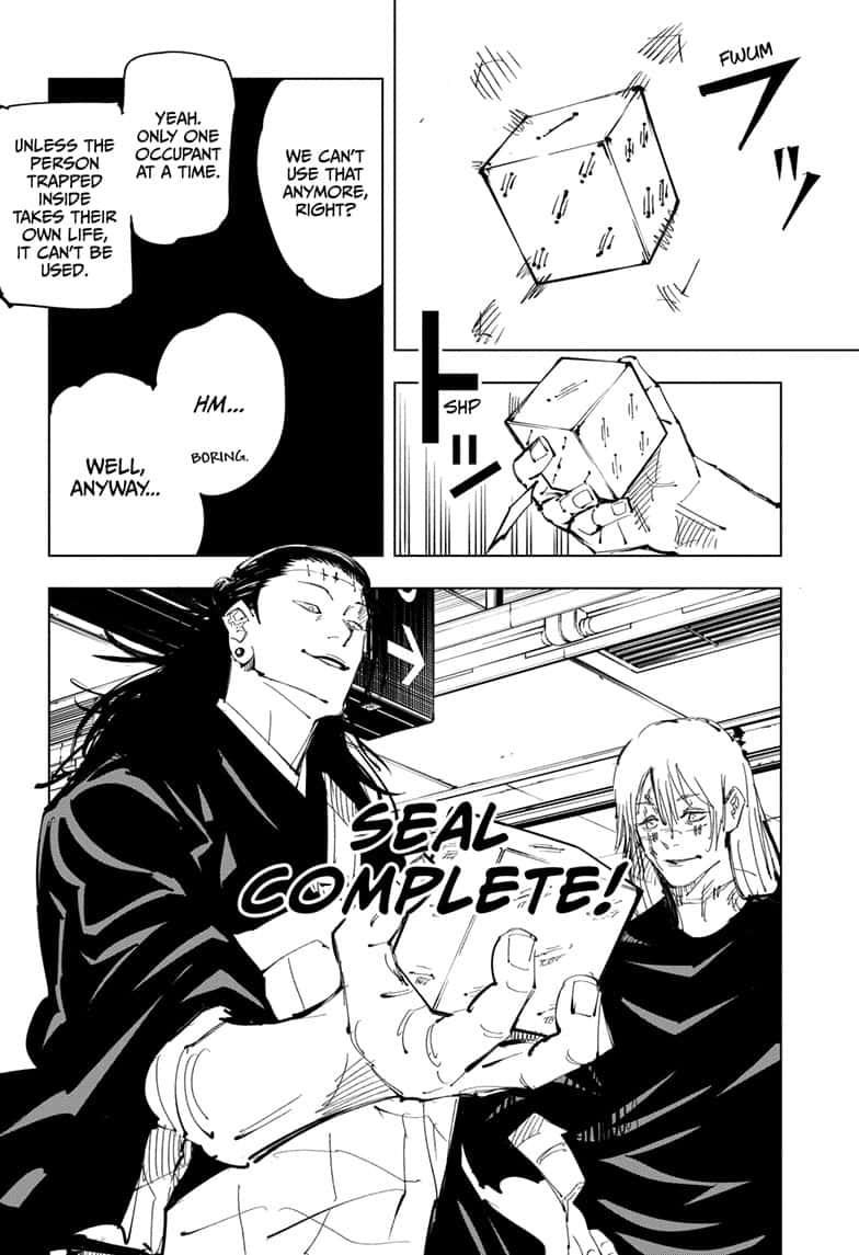 Jujutsu Kaisen, Chapter 91 image 006