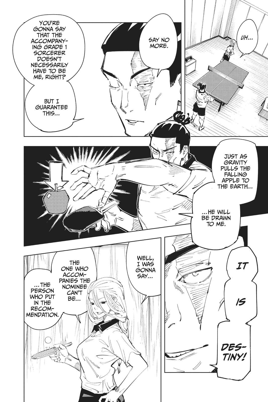 Jujutsu Kaisen, Chapter 64 image 004