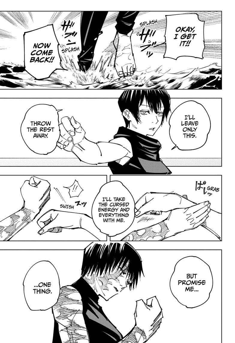 Jujutsu Kaisen, Chapter 149 image 011