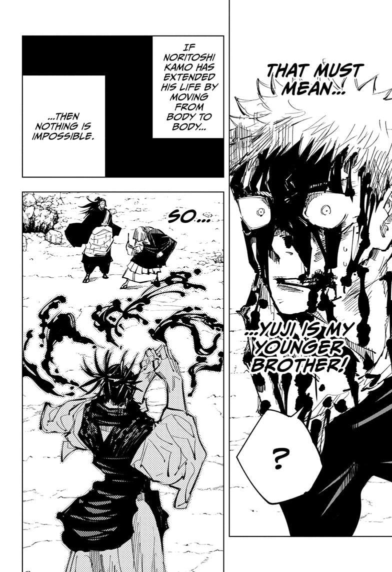 Jujutsu Kaisen, Chapter 135 image 002
