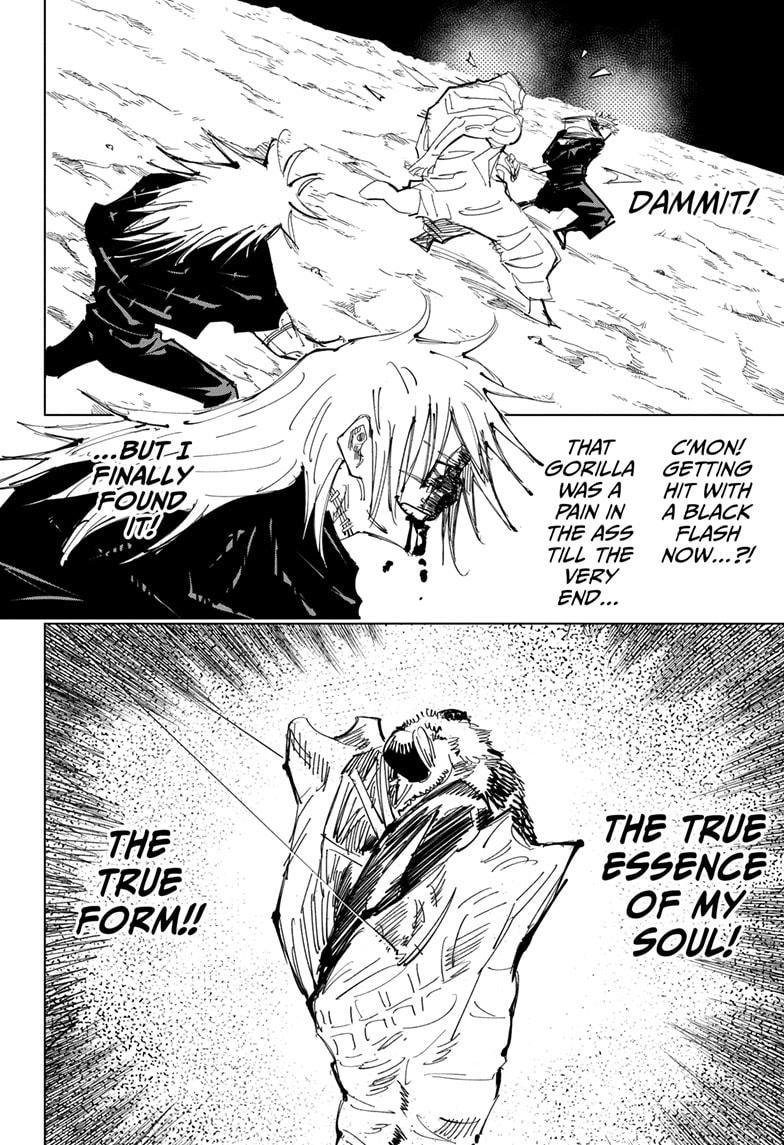 Jujutsu Kaisen, Chapter 130 image 016