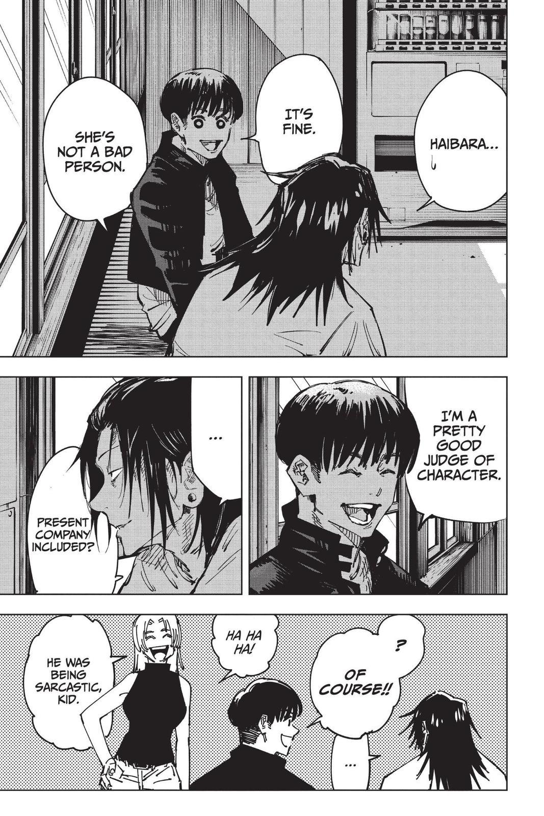 Jujutsu Kaisen, Chapter 77 image 003