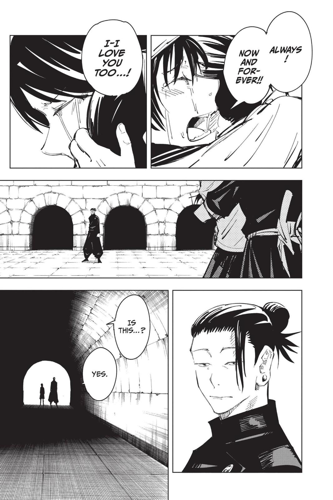 Jujutsu Kaisen, Chapter 72 image 007