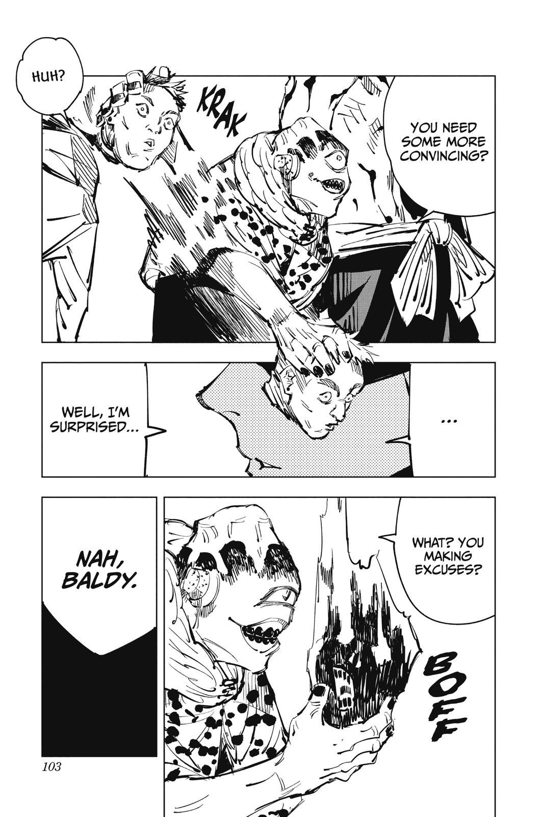Jujutsu Kaisen, Chapter 84 image 015